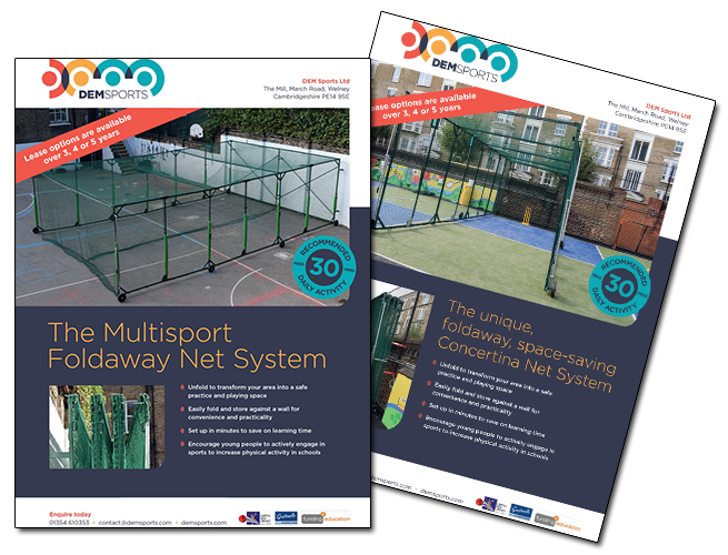 CRICKET CAGES FOR SCHOOLS DEM Sports